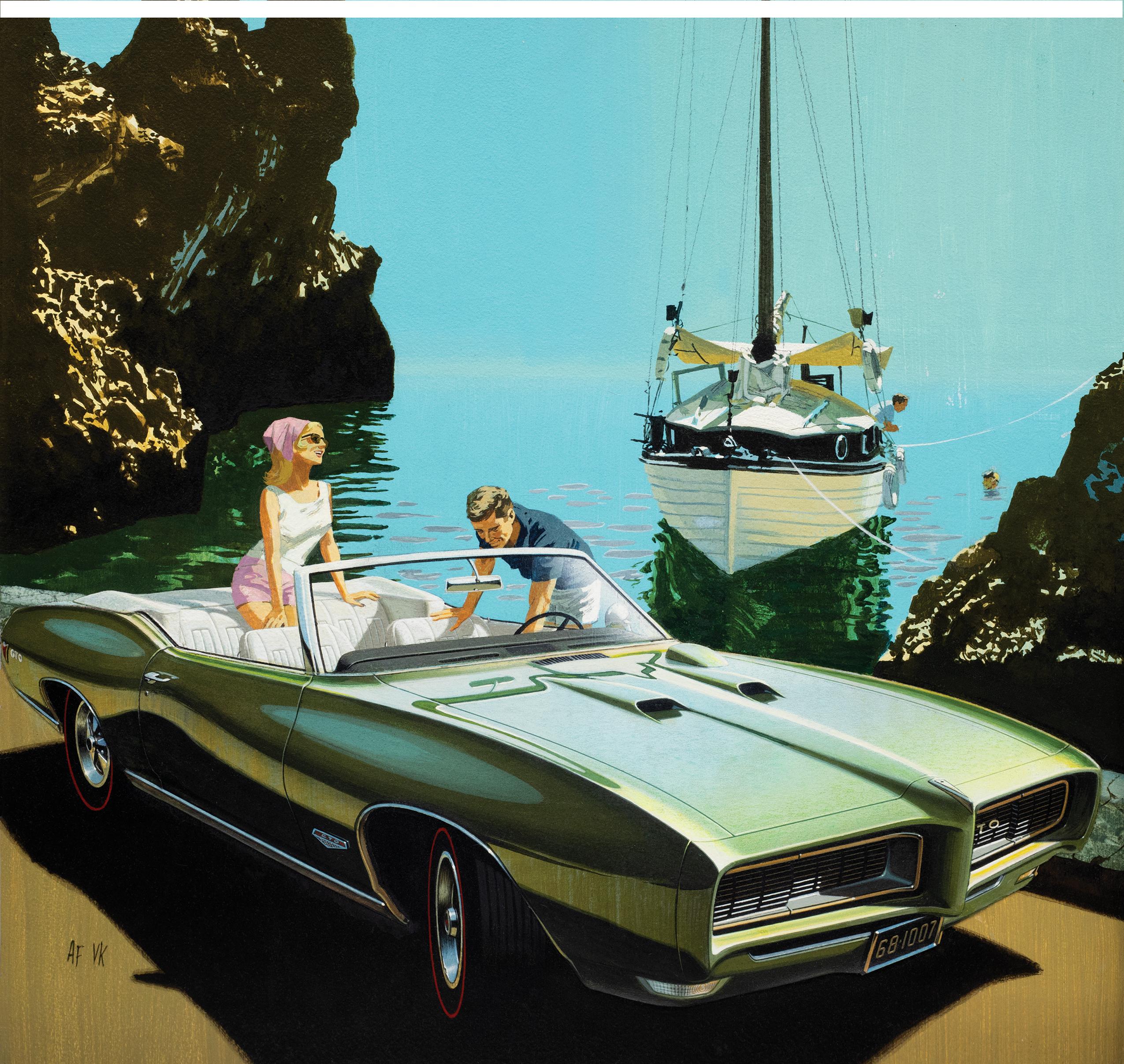 Fitz and Van - 1968 Pontiac GTO Corfu Cove