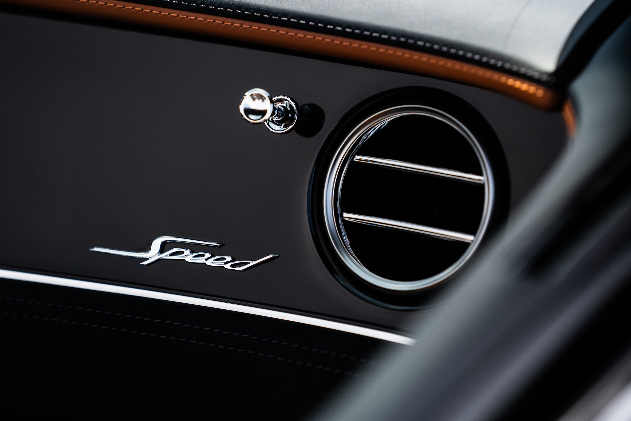 Bentley GT Speed Convertible dash detail