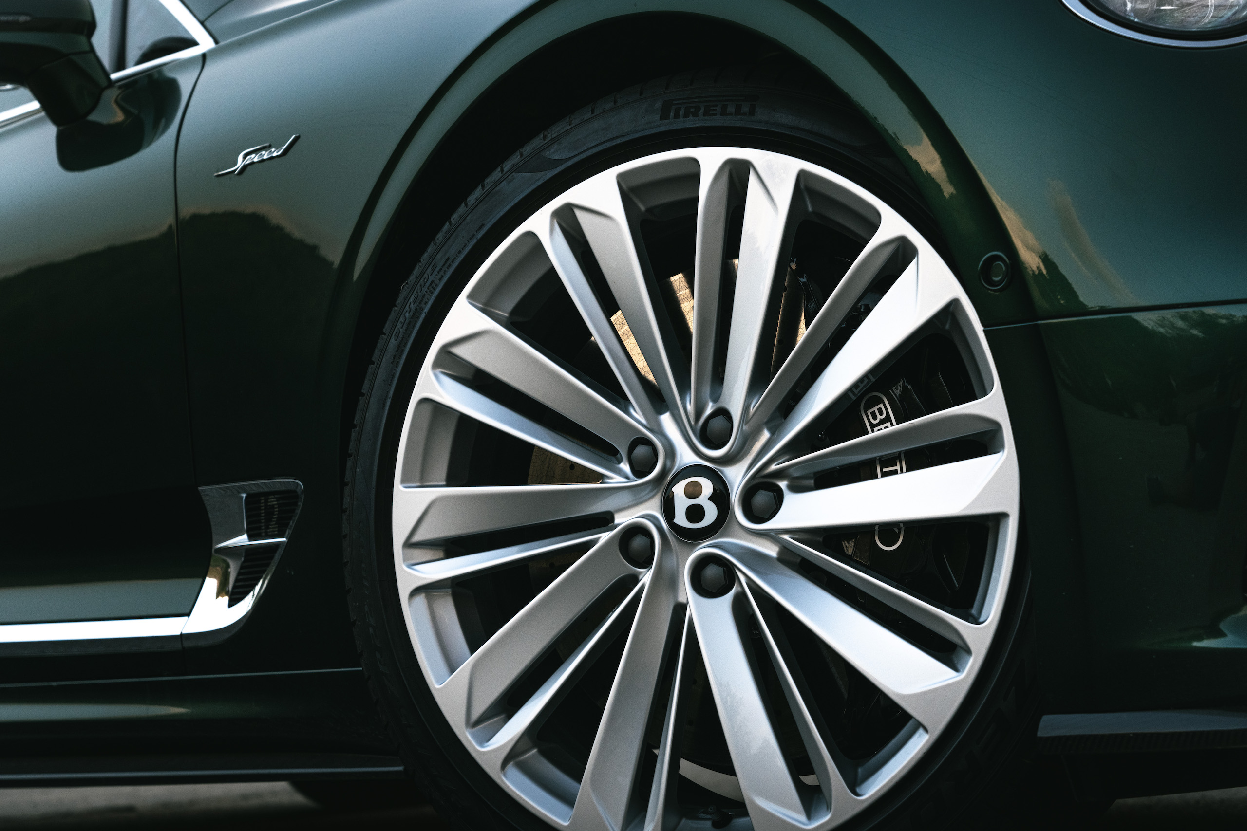 Bentley GT Speed Coupe wheel