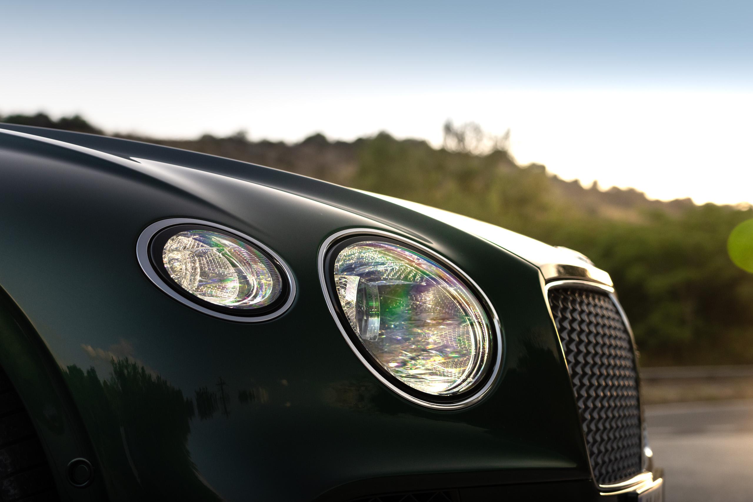 Bentley GT Speed Coupe headlight