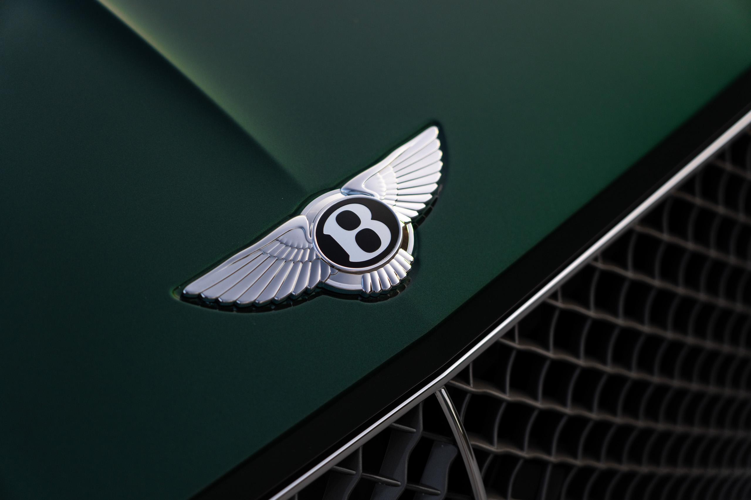Bentley GT Speed Coupe logo badge