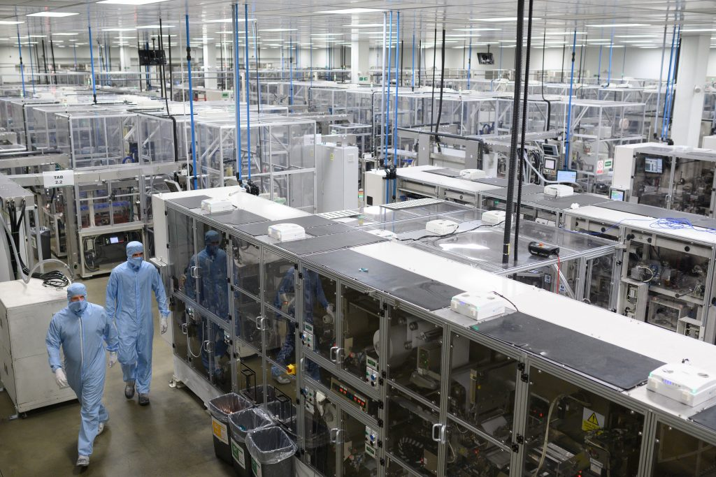 BRITAIN-JAPAN-AUTOMOBILE-TRANSPORT-NISSAN battery factory