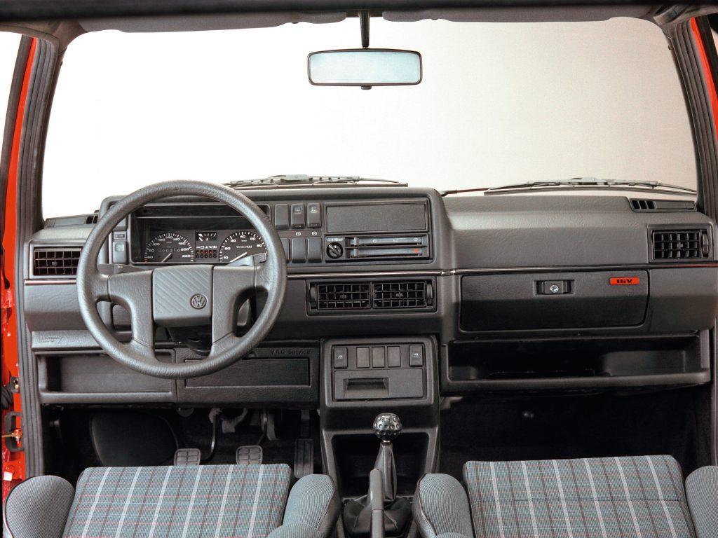 1989 Golf GTI 16V interior