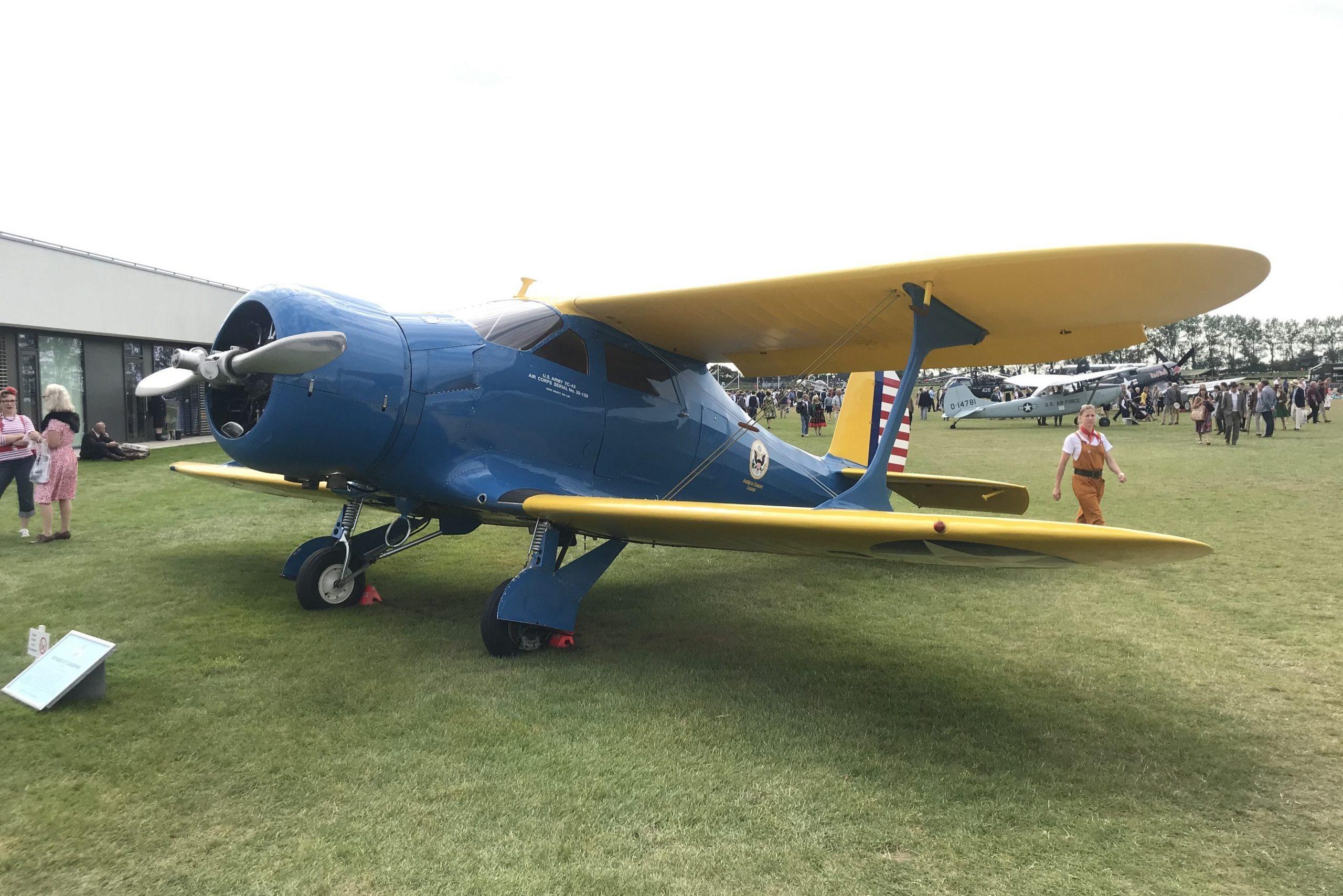 1939 Beech D17S Staggerwing