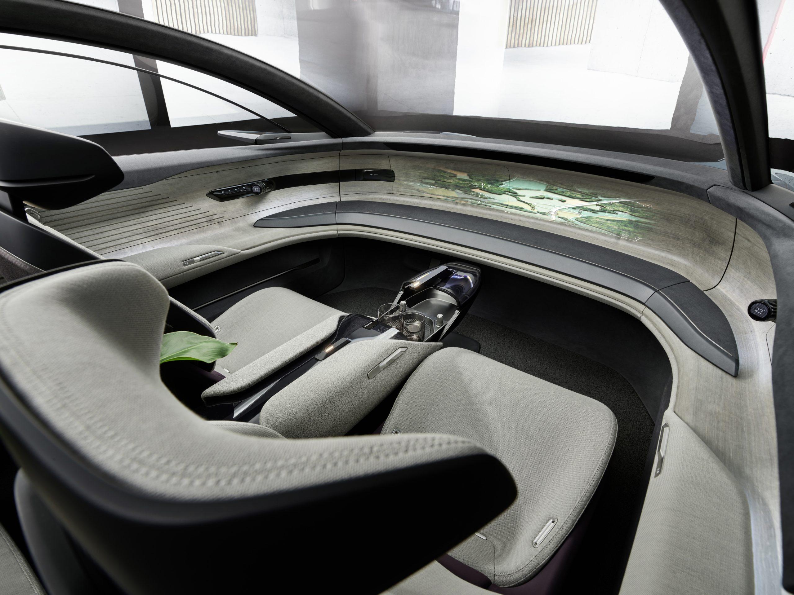 Audi Grand Sphere interior 1