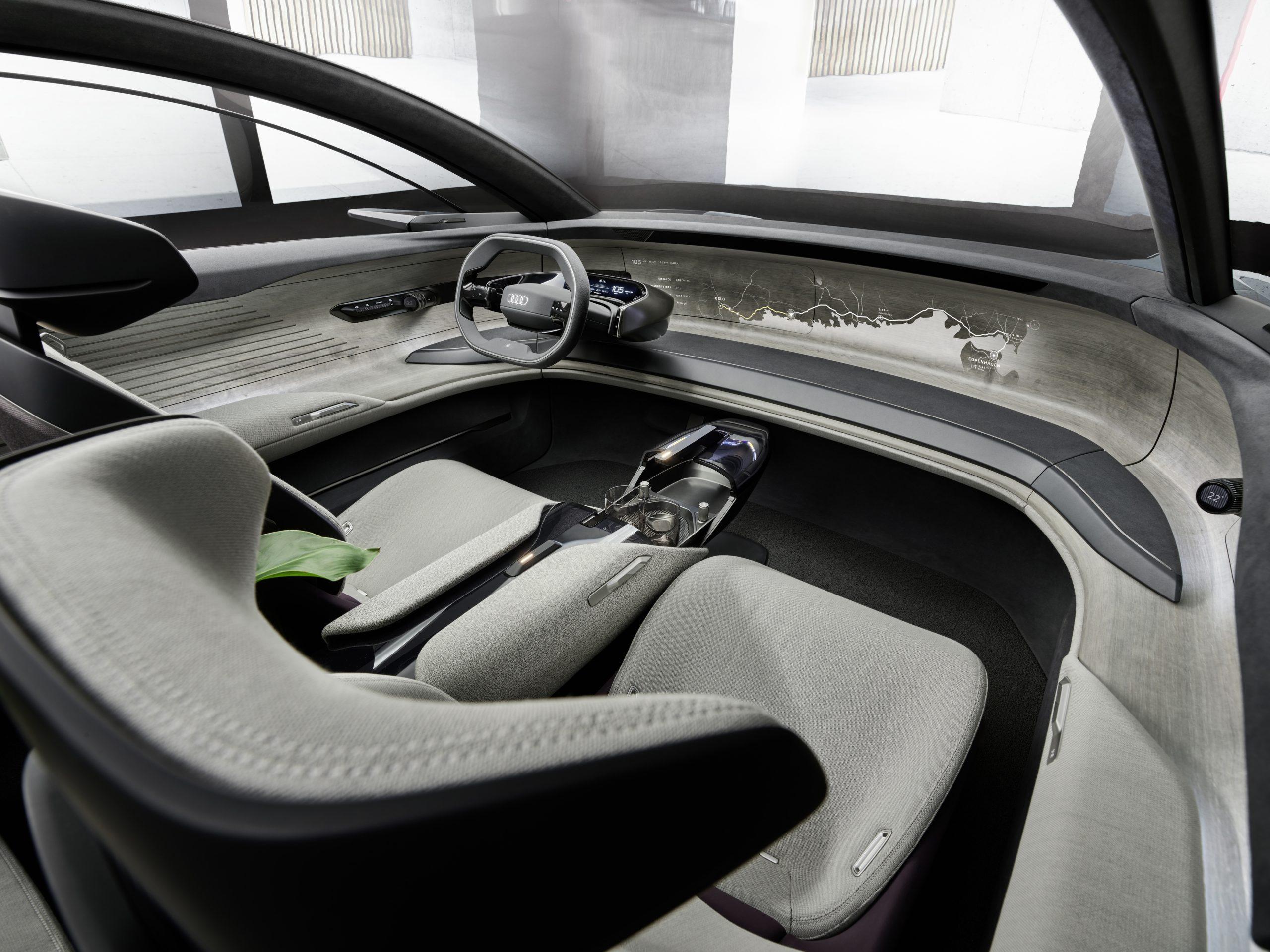 Audi Grand Sphere interior 2