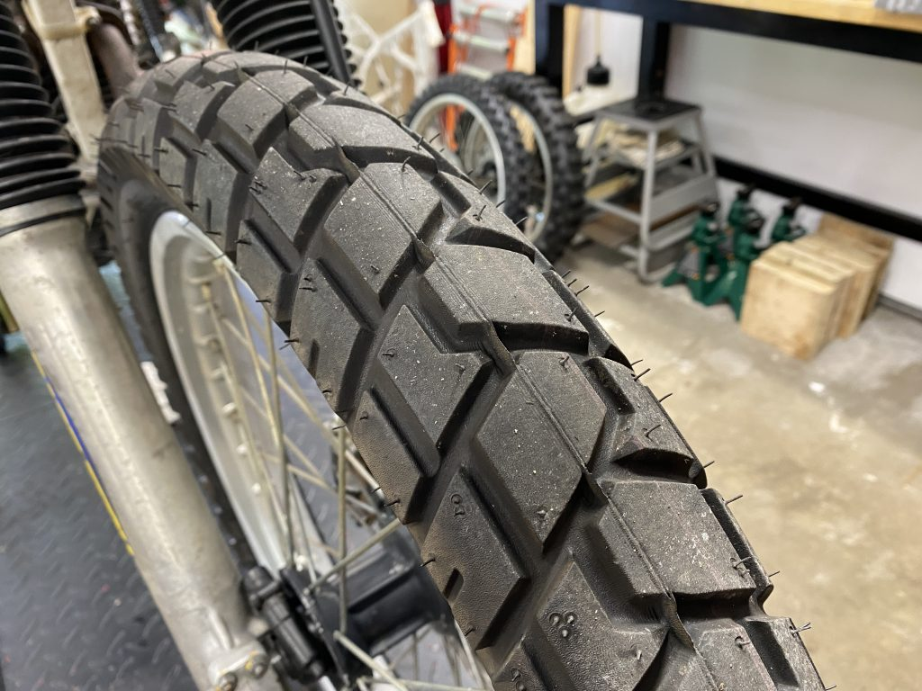 blocky tires for XR250R