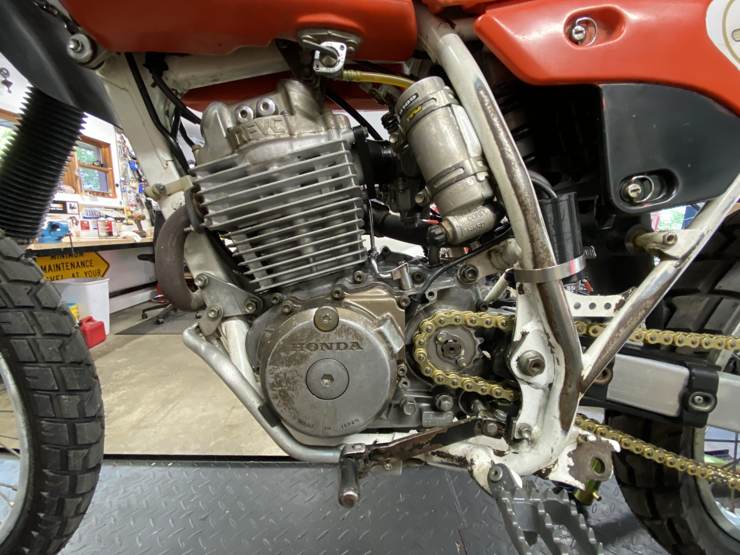 Honda XR250R engine
