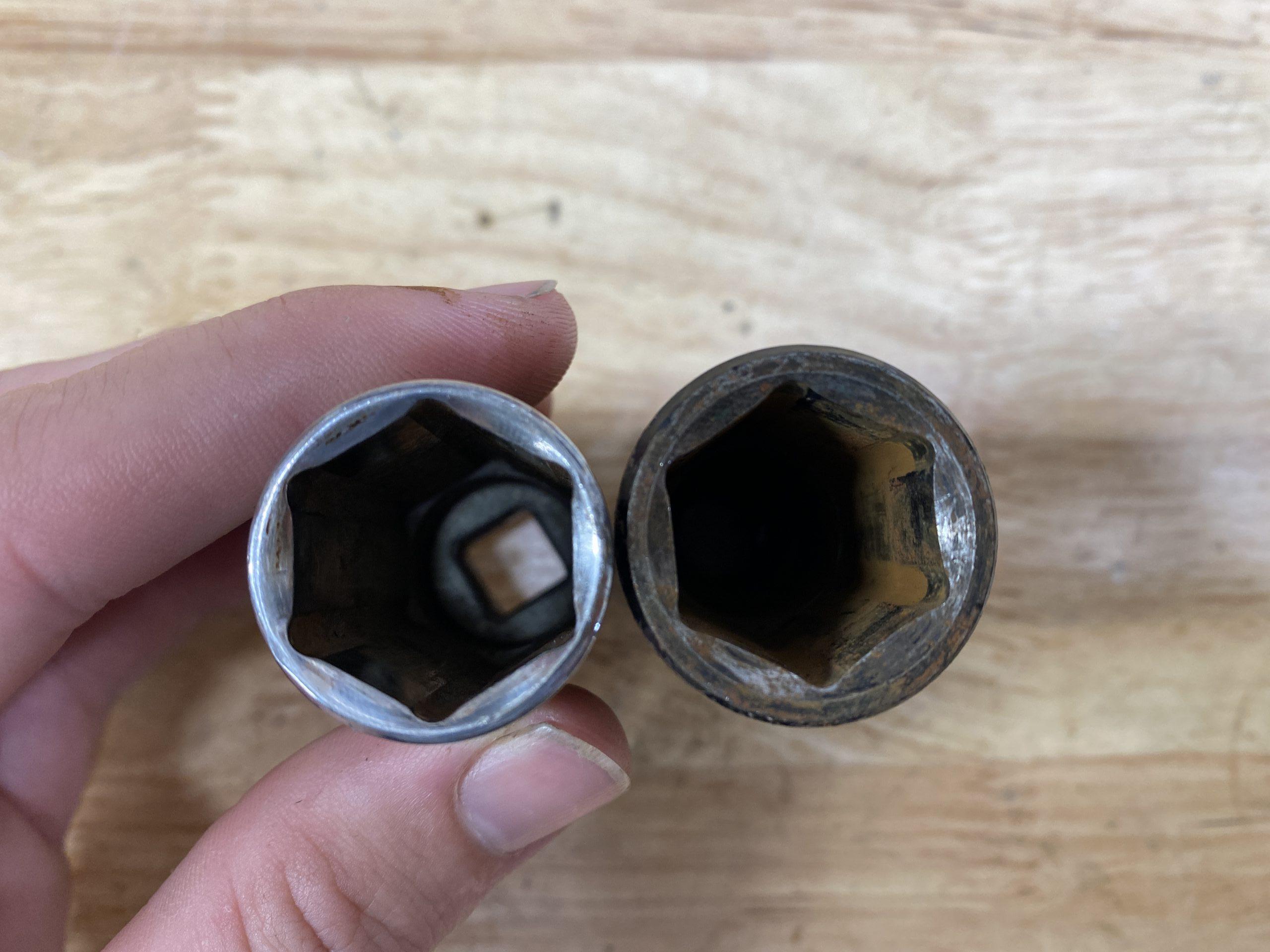 impact vs chrome socket