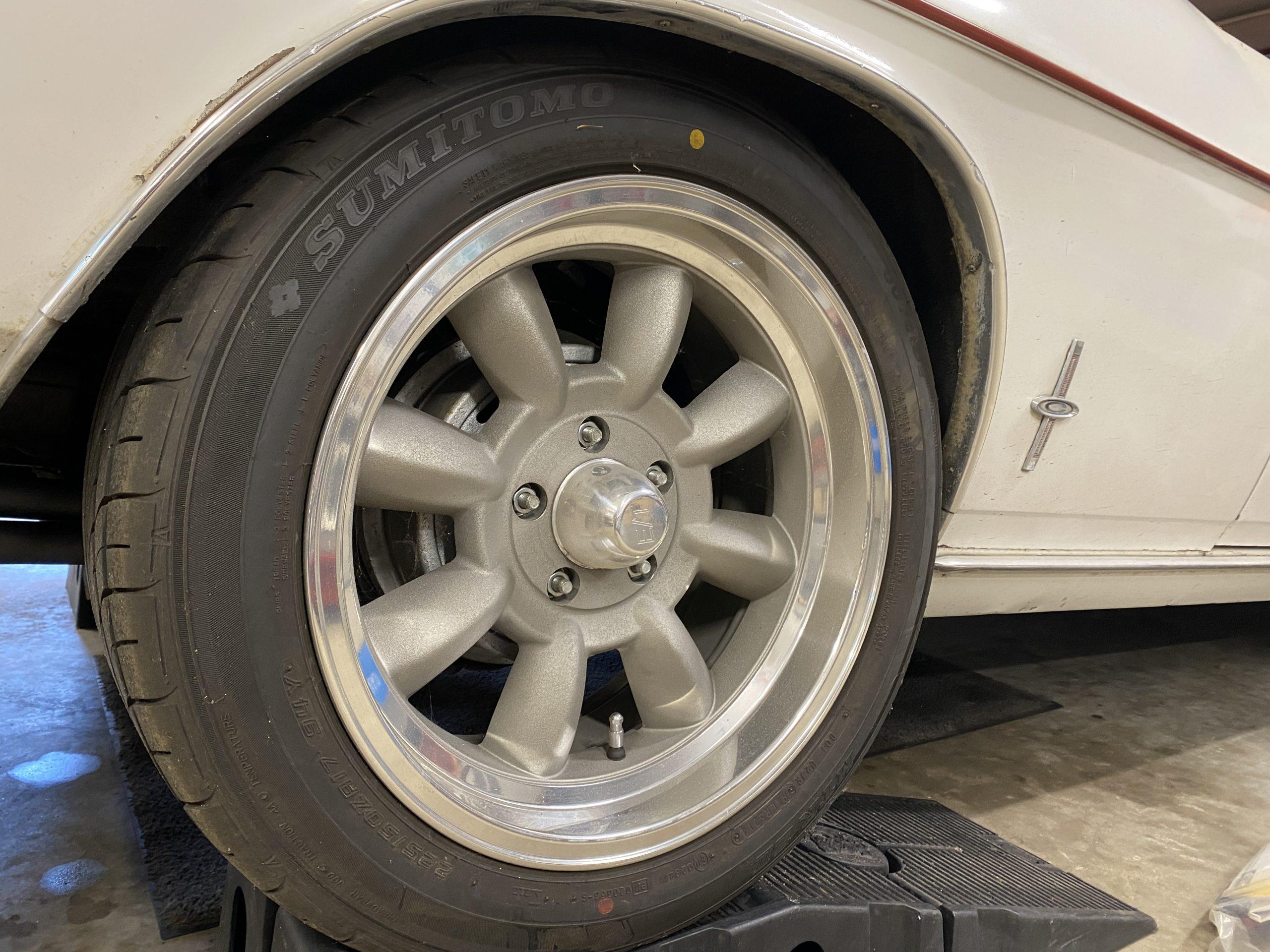 Corvair wheel