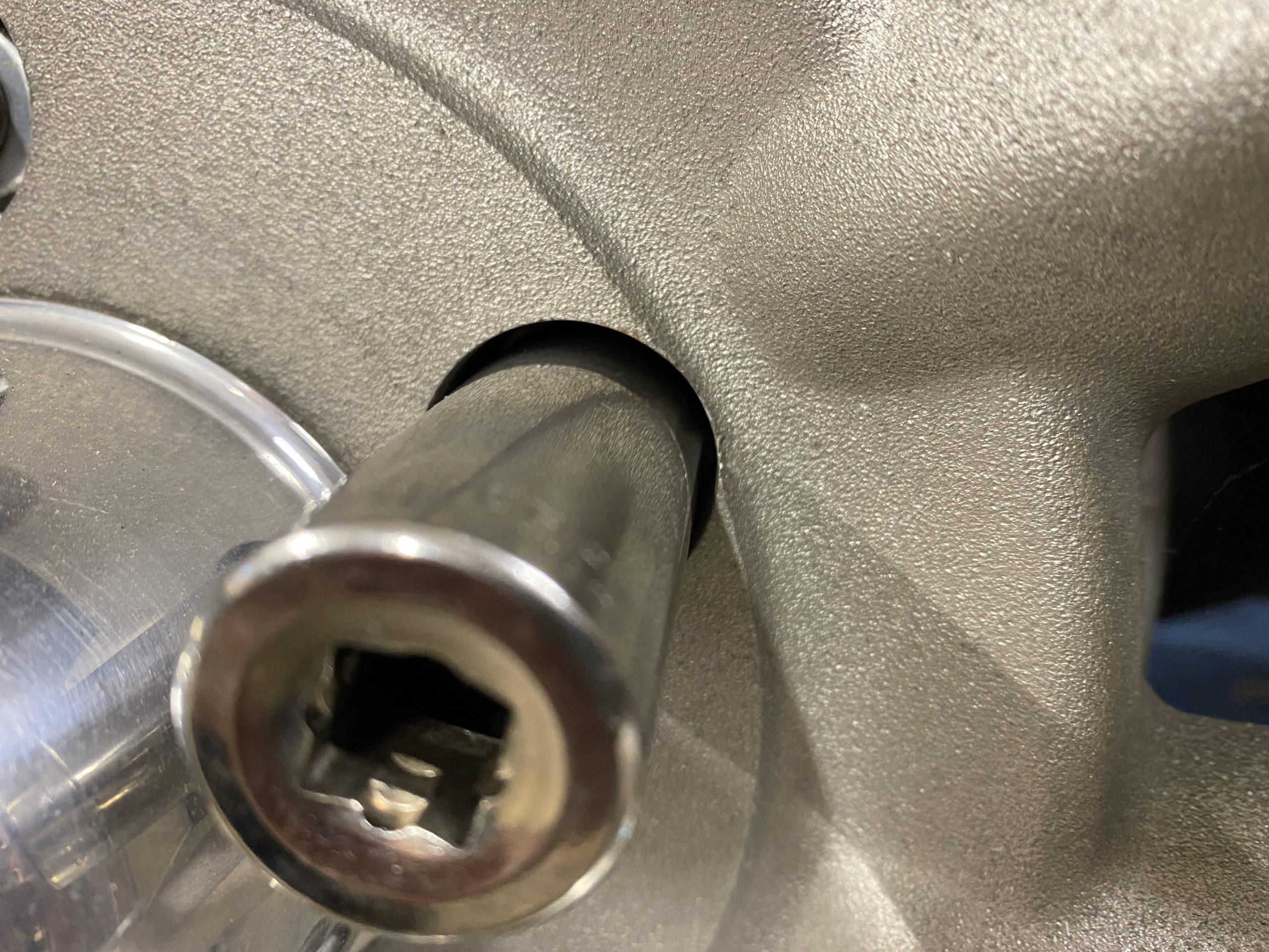 standard socket in corvair wheel