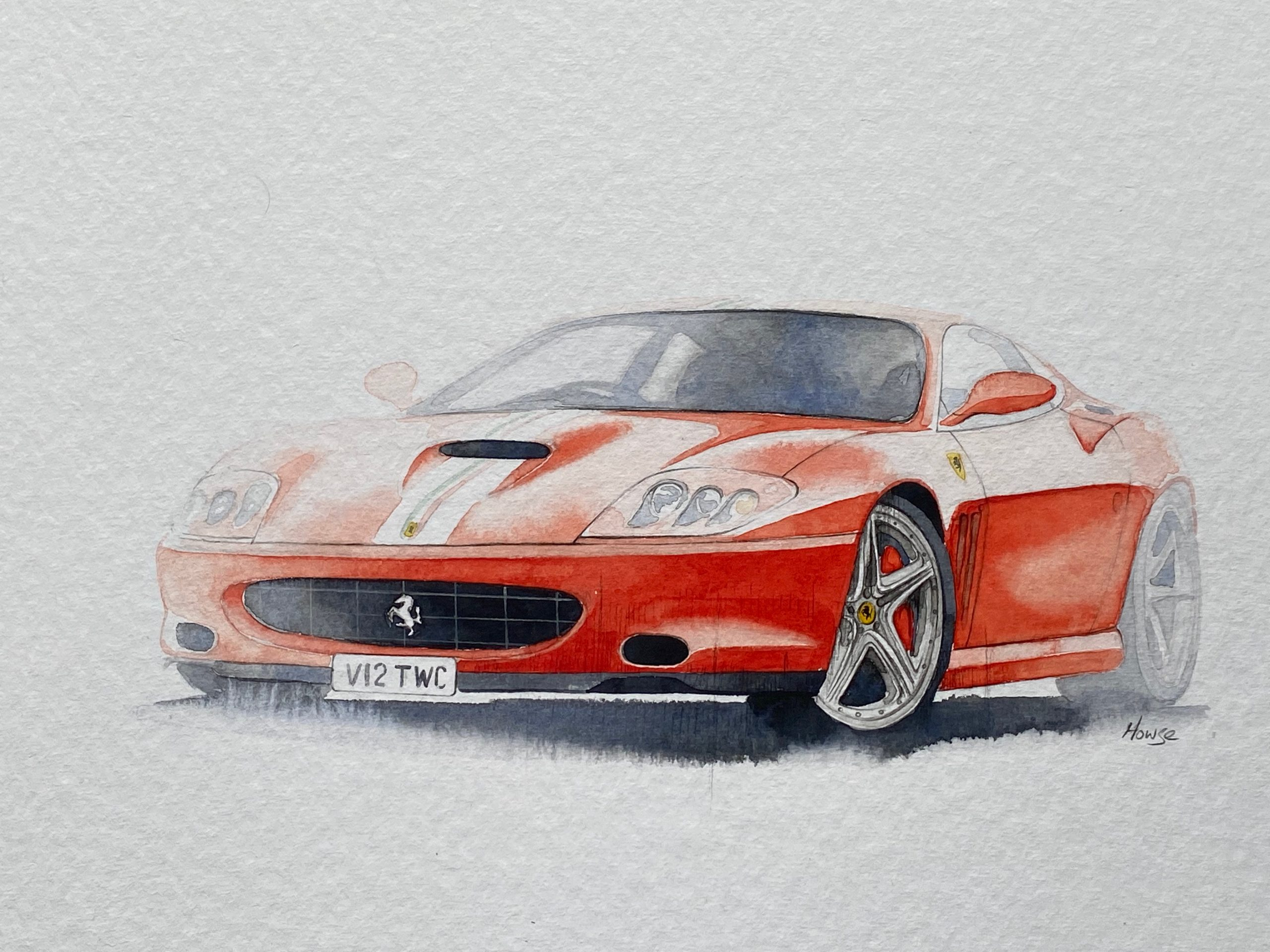 Ferrari Paul Howse