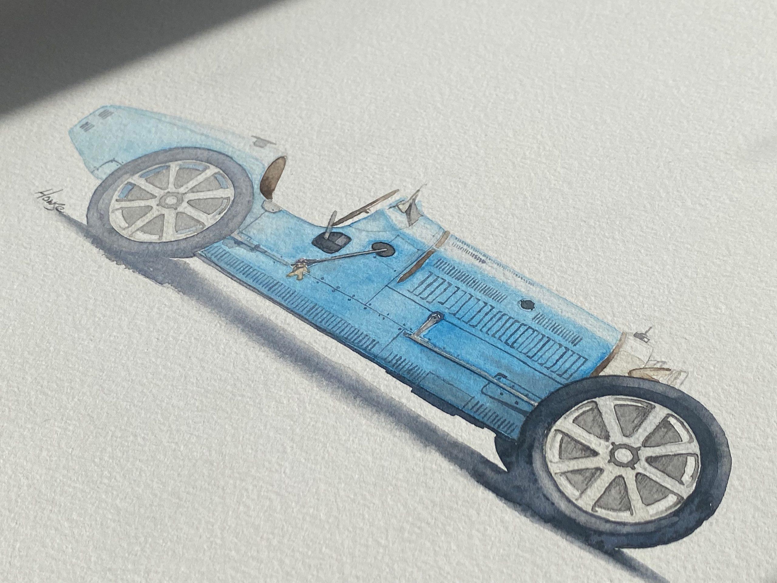 Bugatti Paul Howse