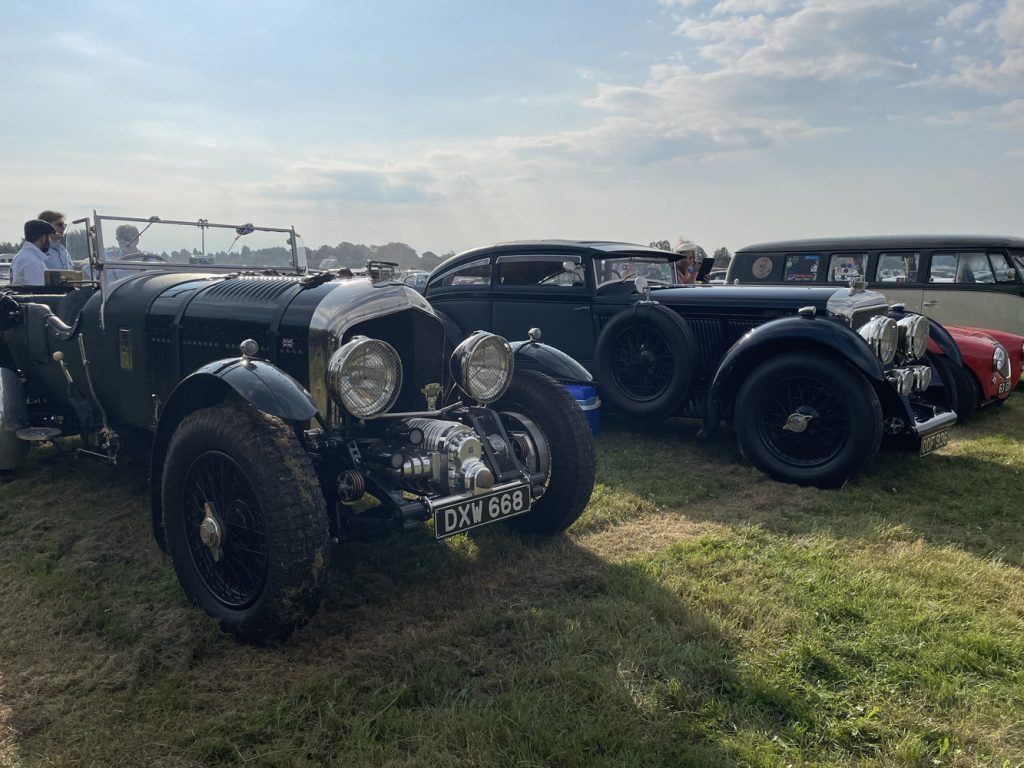 Blower and Blue Train Bentley