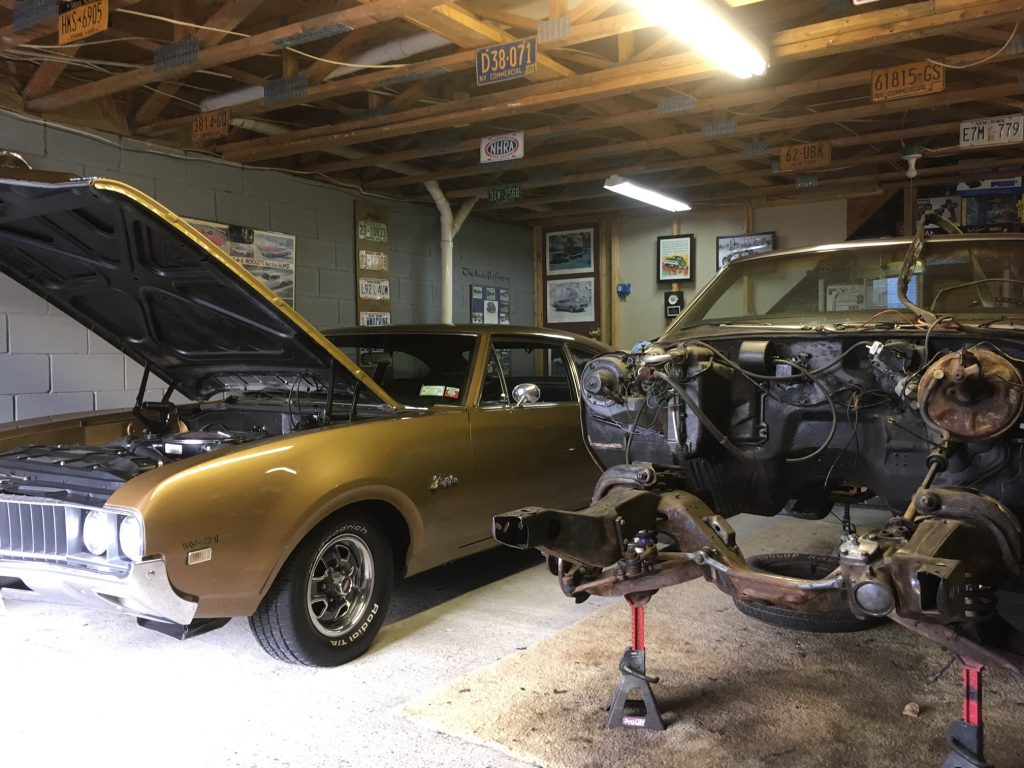1969 Oldsmobile F-85 W-31 and Cutlass convertible restoration