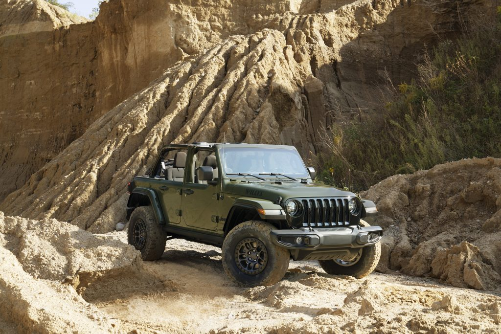 2022 Jeep Wrangler Willys Xtreme Recon package