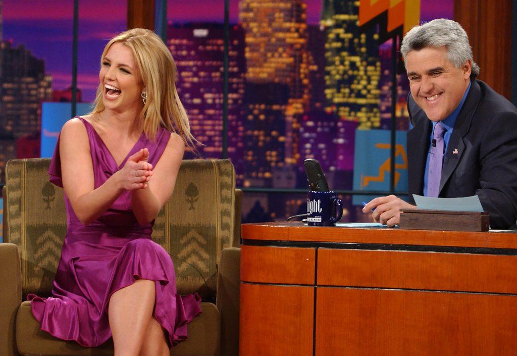 Britney Spears Jay Leno Tonight Show