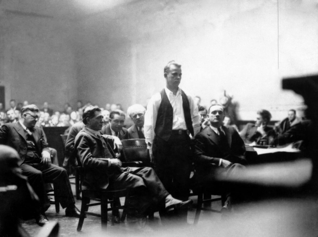 John Dillinger - Court crown point indiana