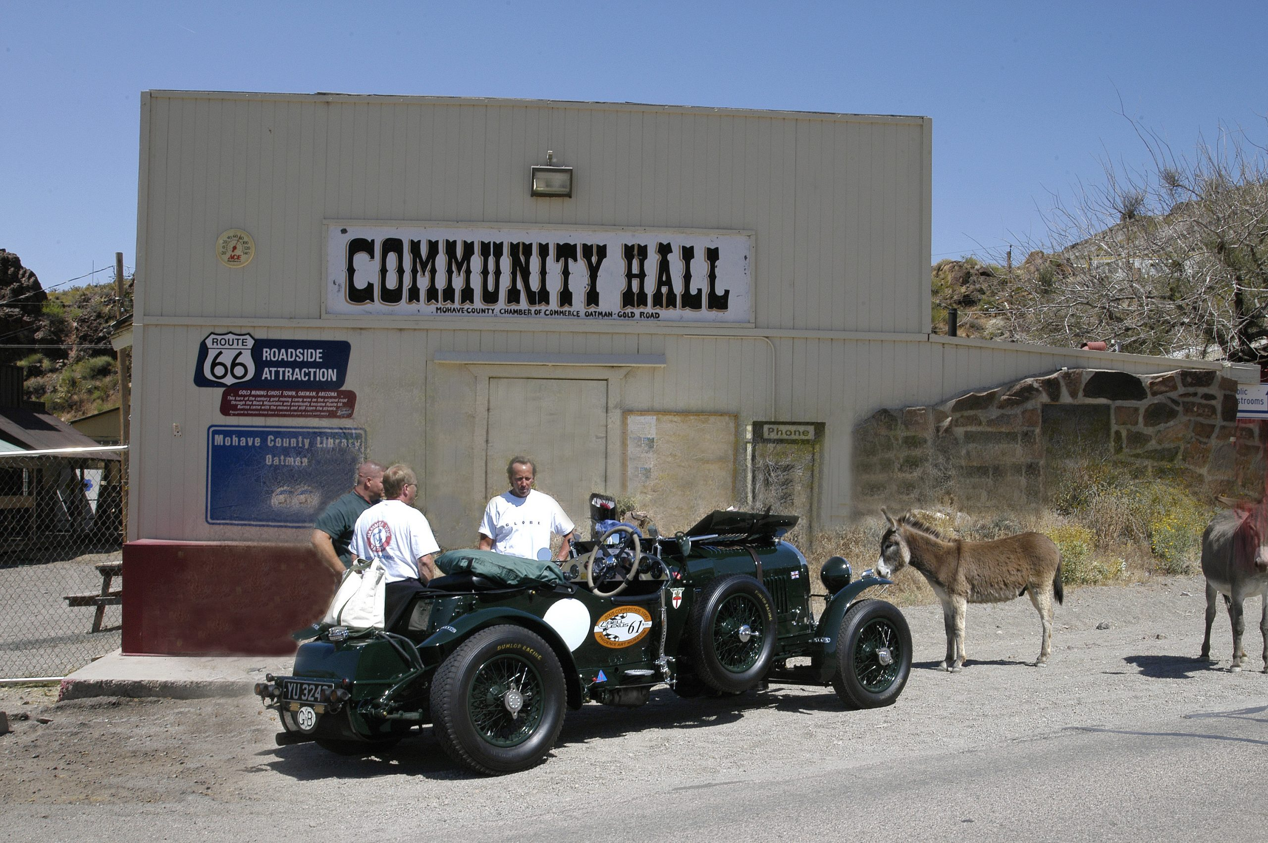 Route 66 Reunion bentley mohave county
