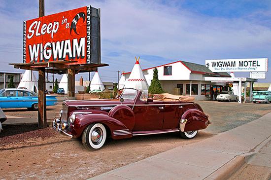Route 66 Reunion wigwam motel