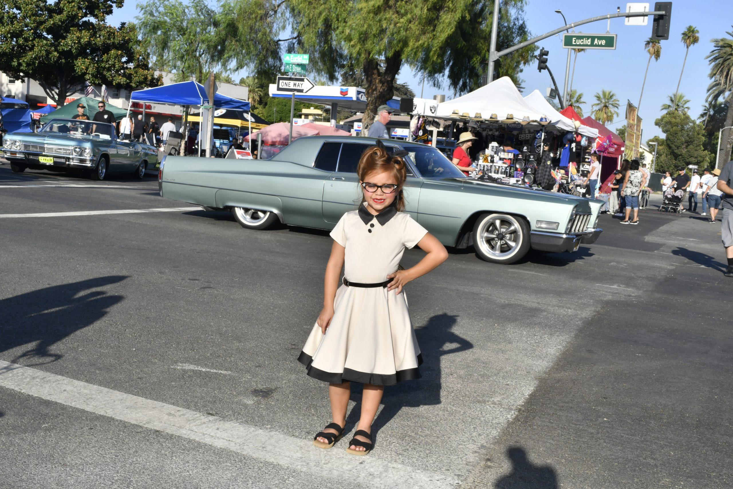 Route 66 Reunion little girl dress up