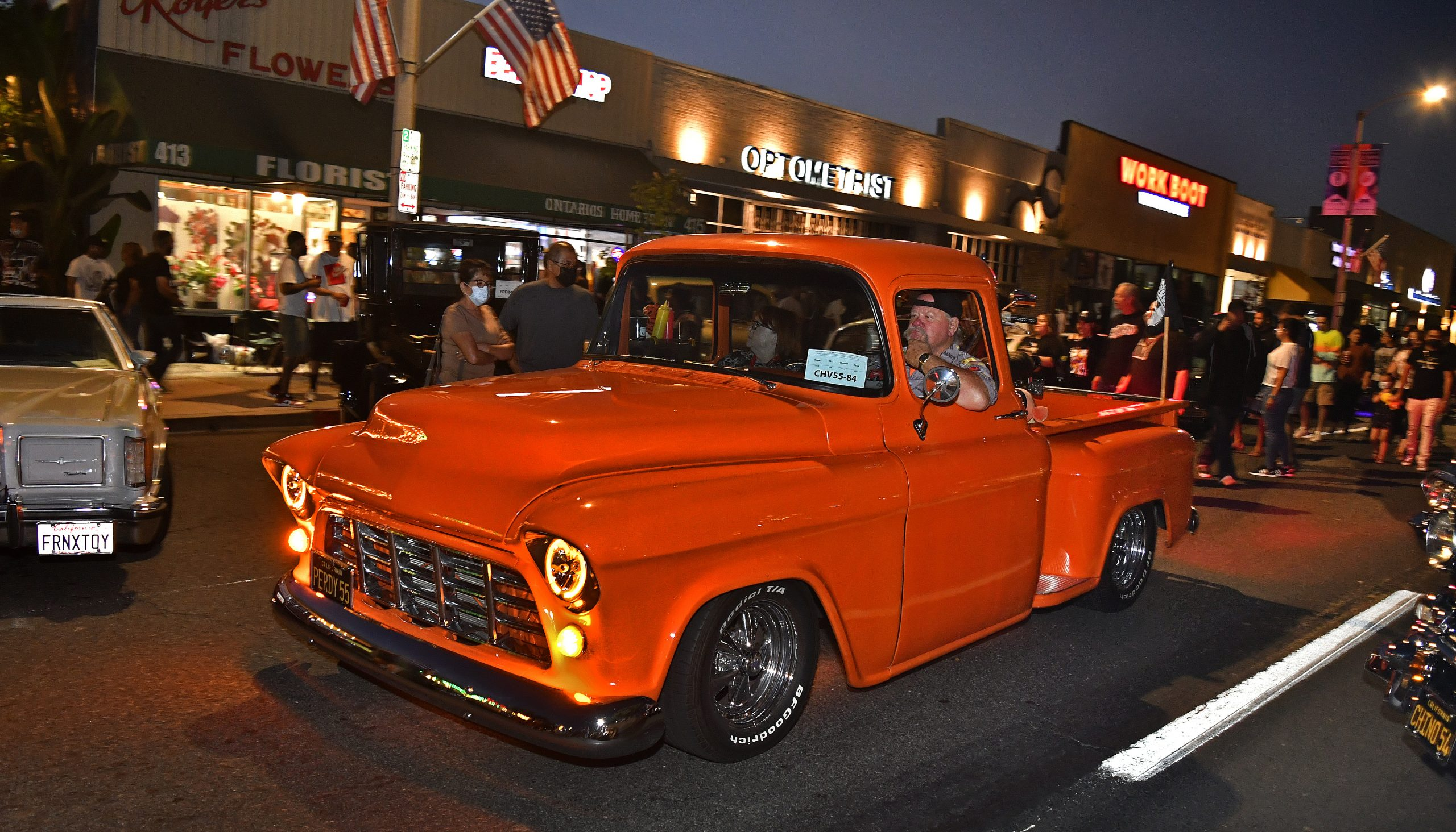 Route 66 Reunion chevy custom pickup