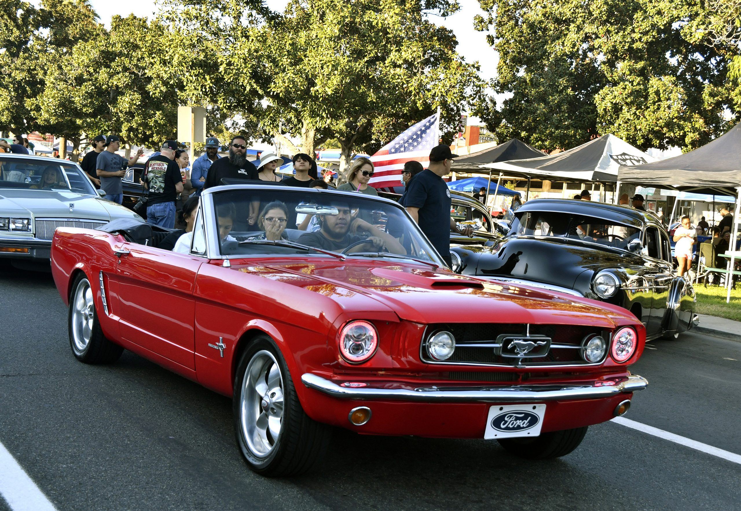 Route 66 Reunion ford mustang custom convertible
