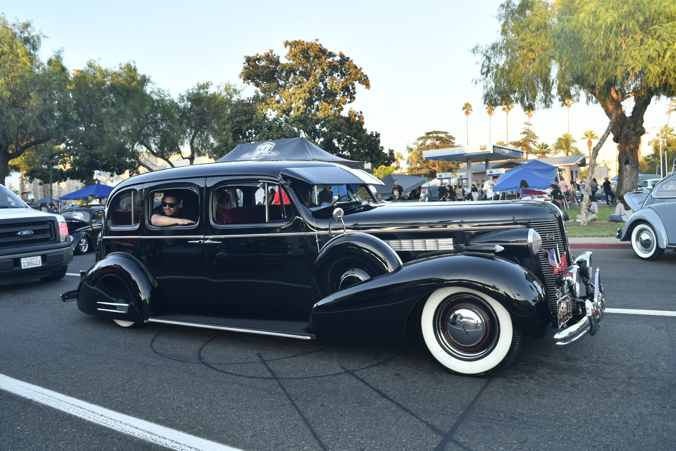 Route 66 Reunion buick hot rod
