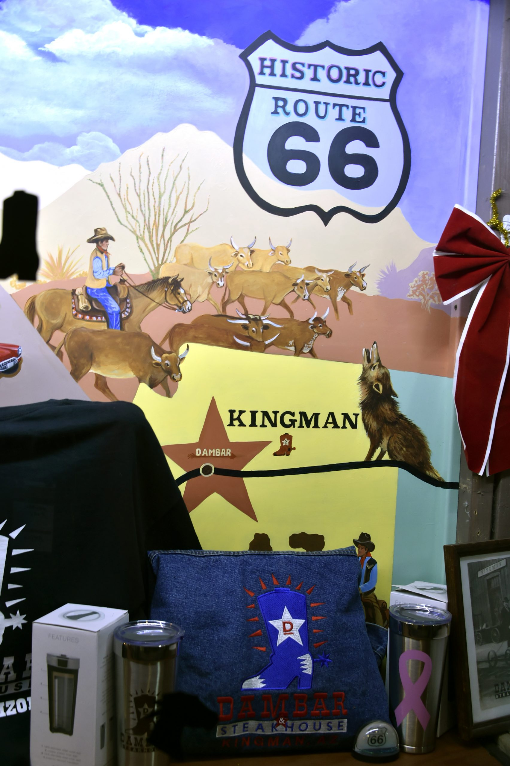 Route 66 Reunion kingman az art