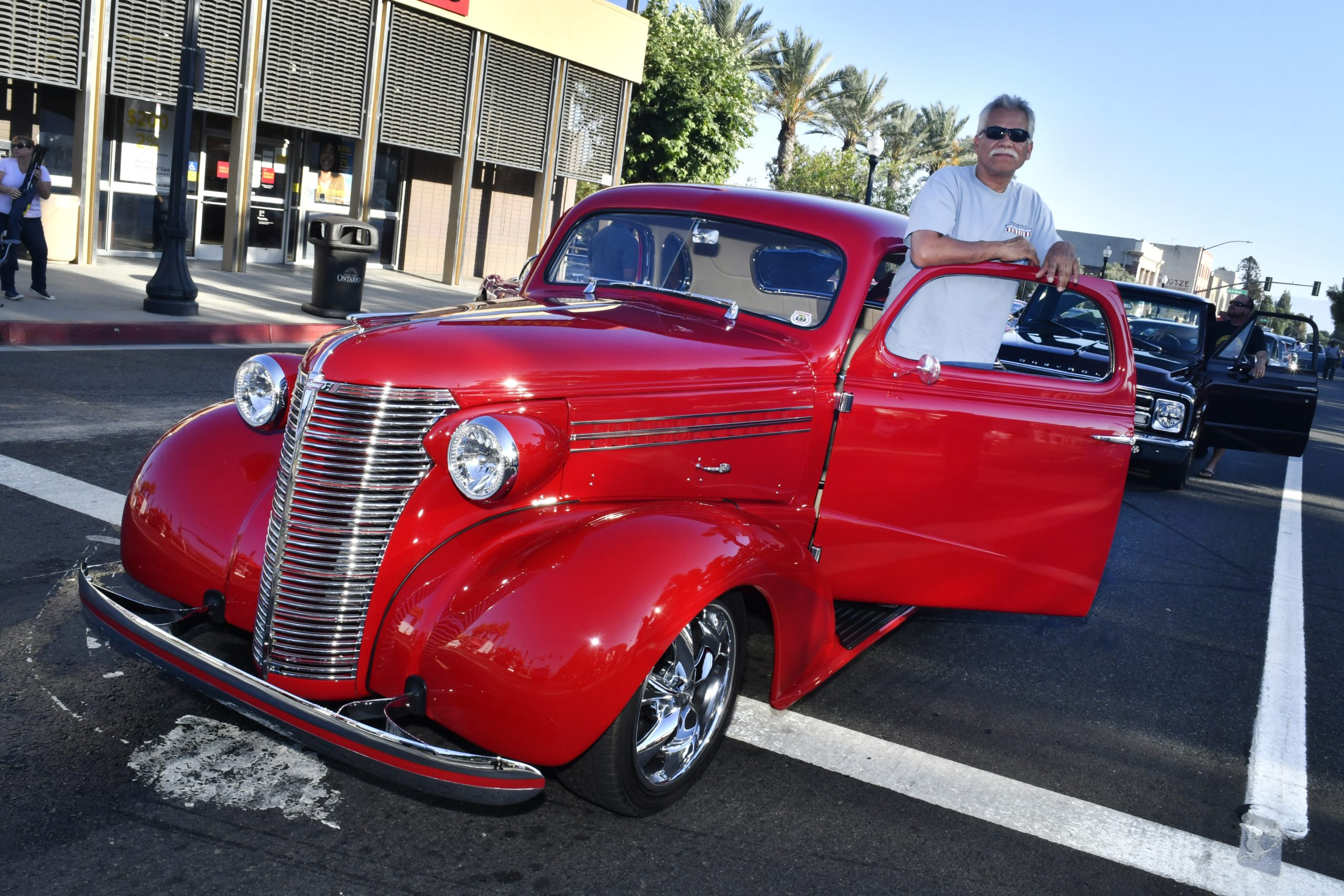 Route 66 Reunion chevy coupe hot rod