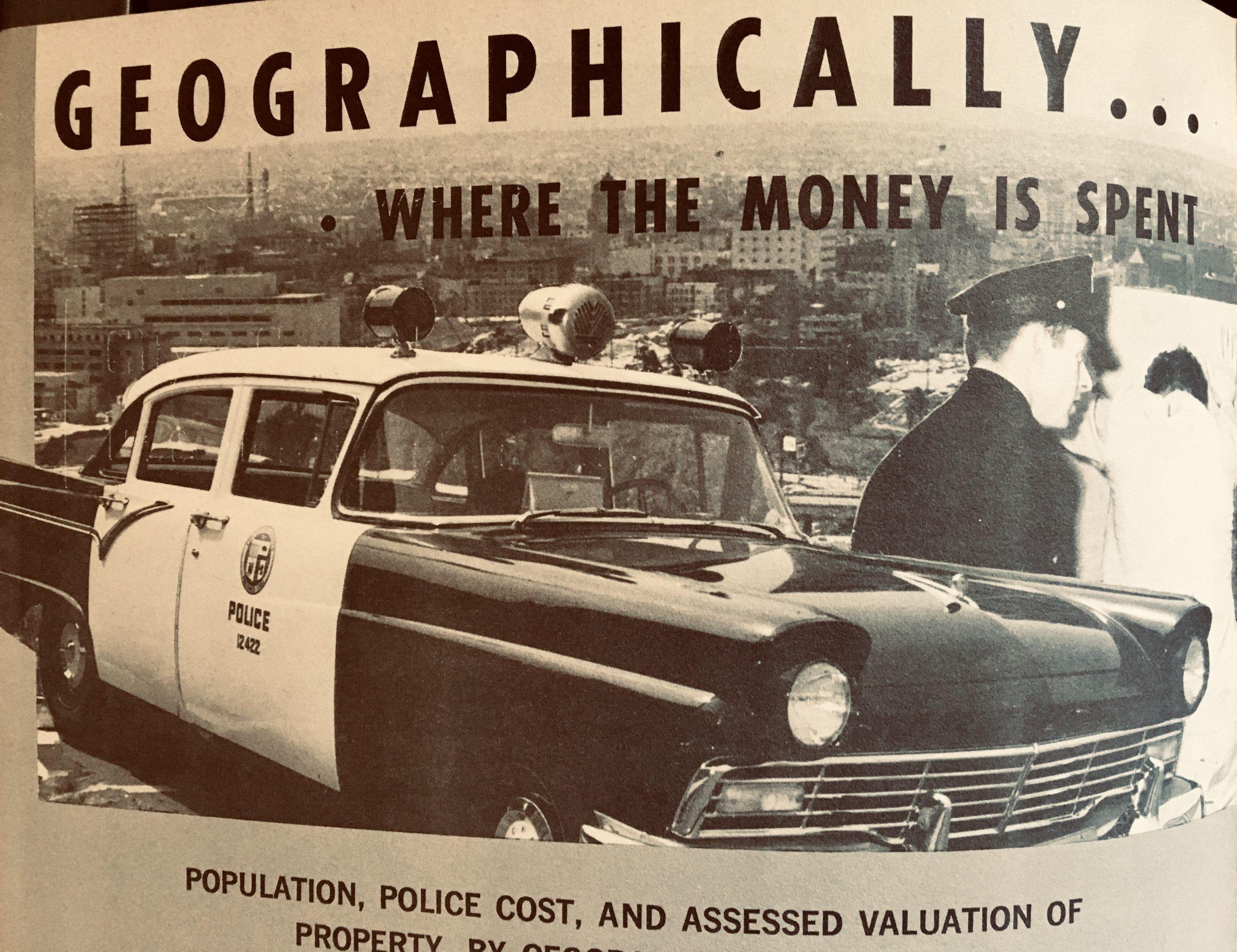 vintage ford cop car
