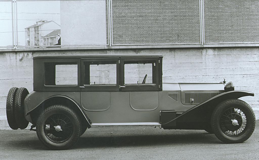 1922–1925 Lancia Lambda unibody chassis