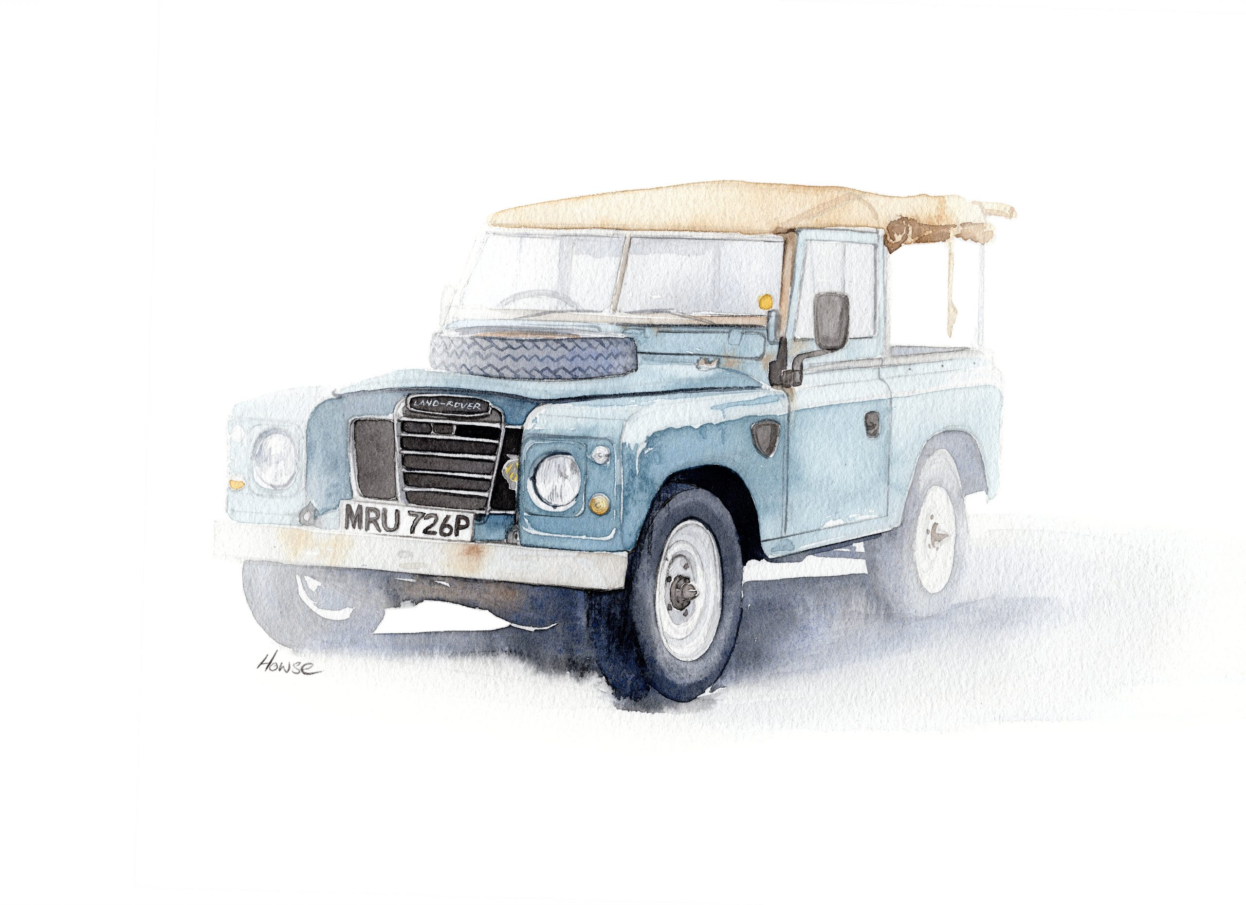 Land Rover Series 3 Paul Howse