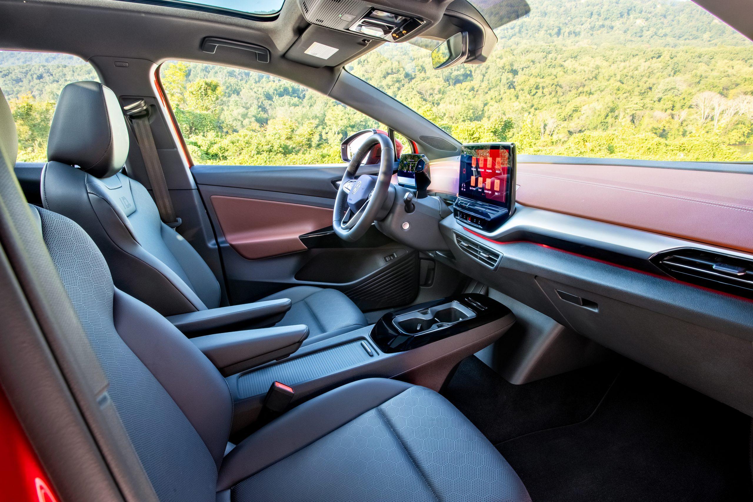 VW ID.4 AWD Pro S interior angle