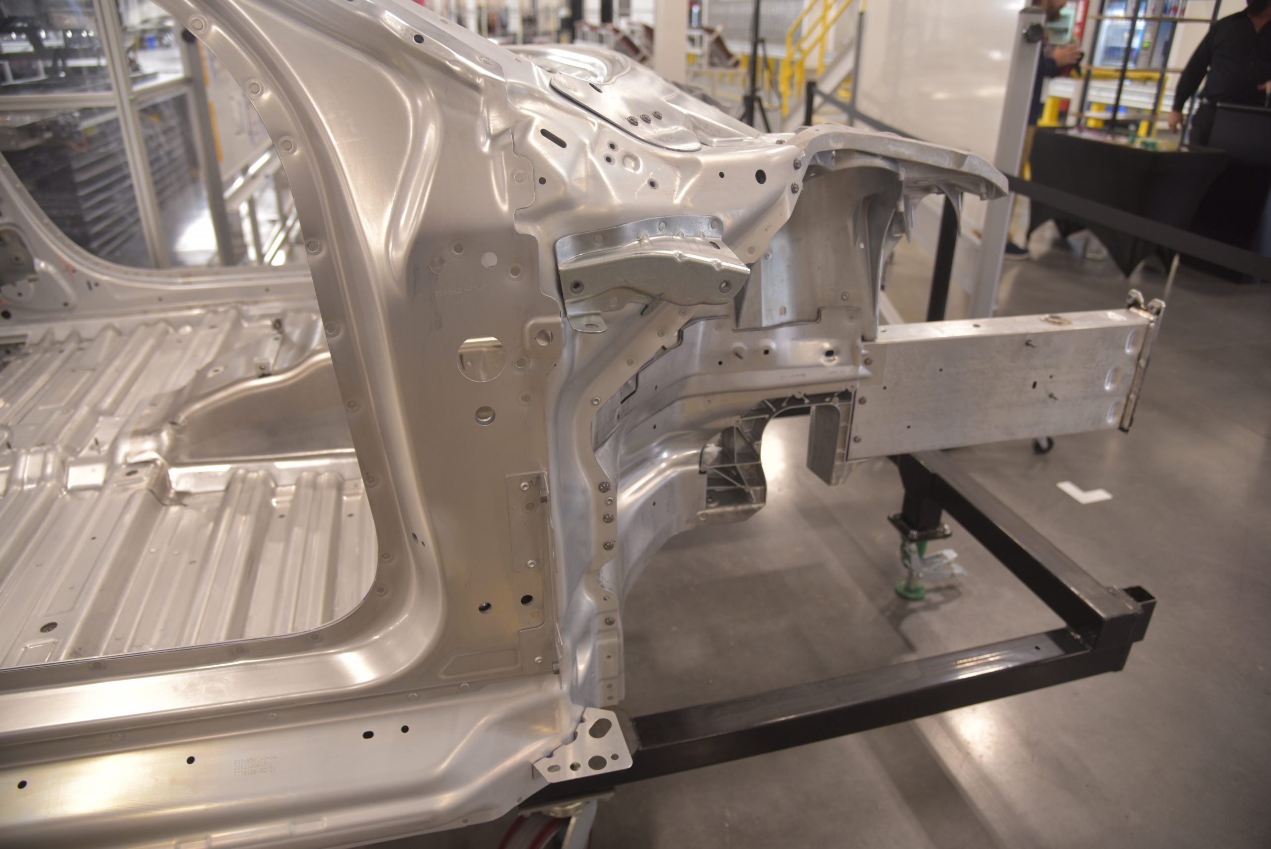 Lucid Air production line structure