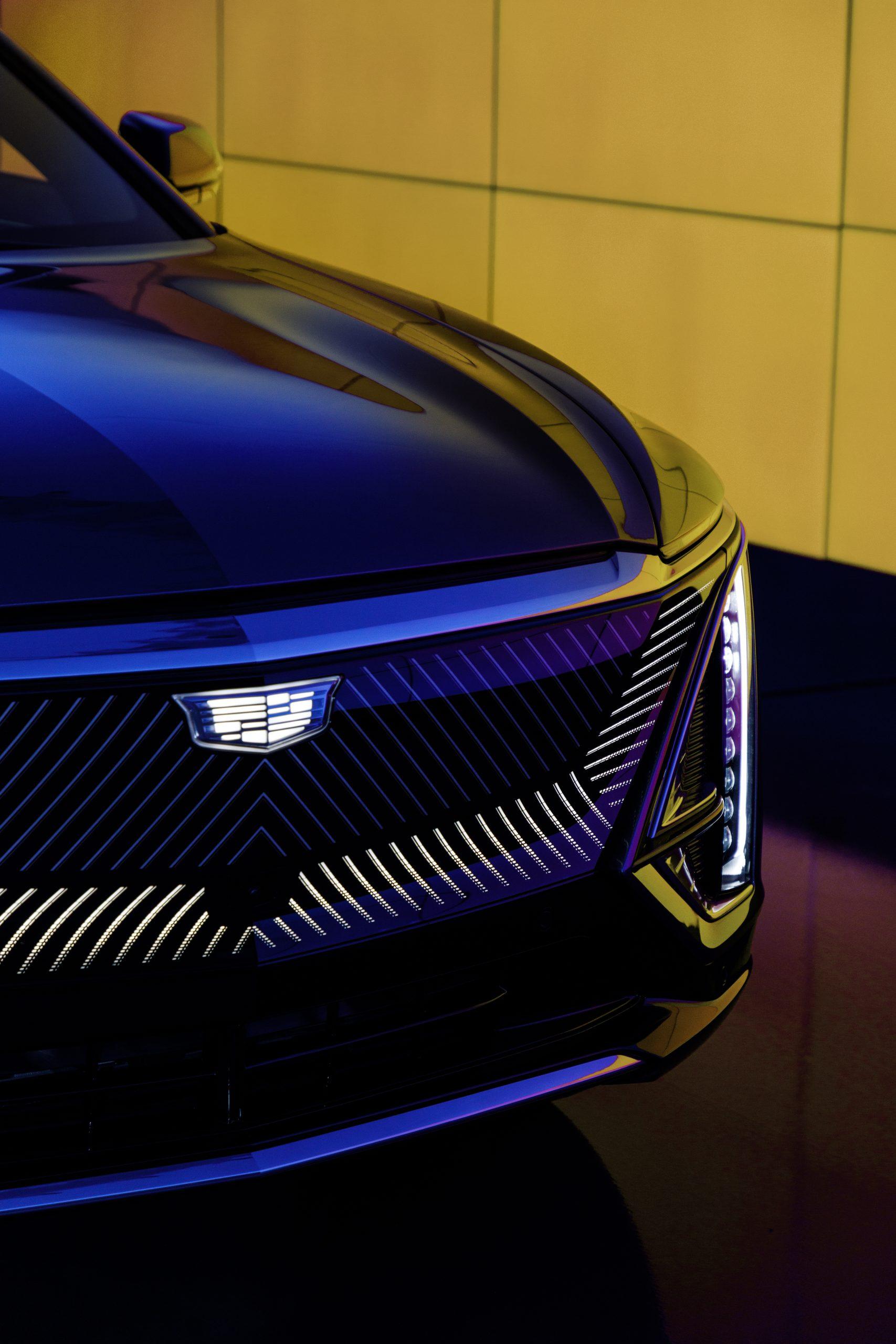 2023 Cadillac Lyriq front headlight