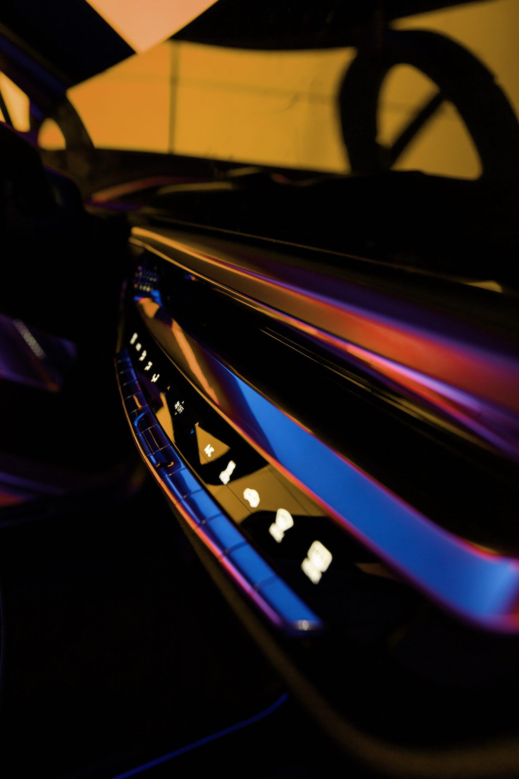2023 Cadillac Lyriq interior dash buttons