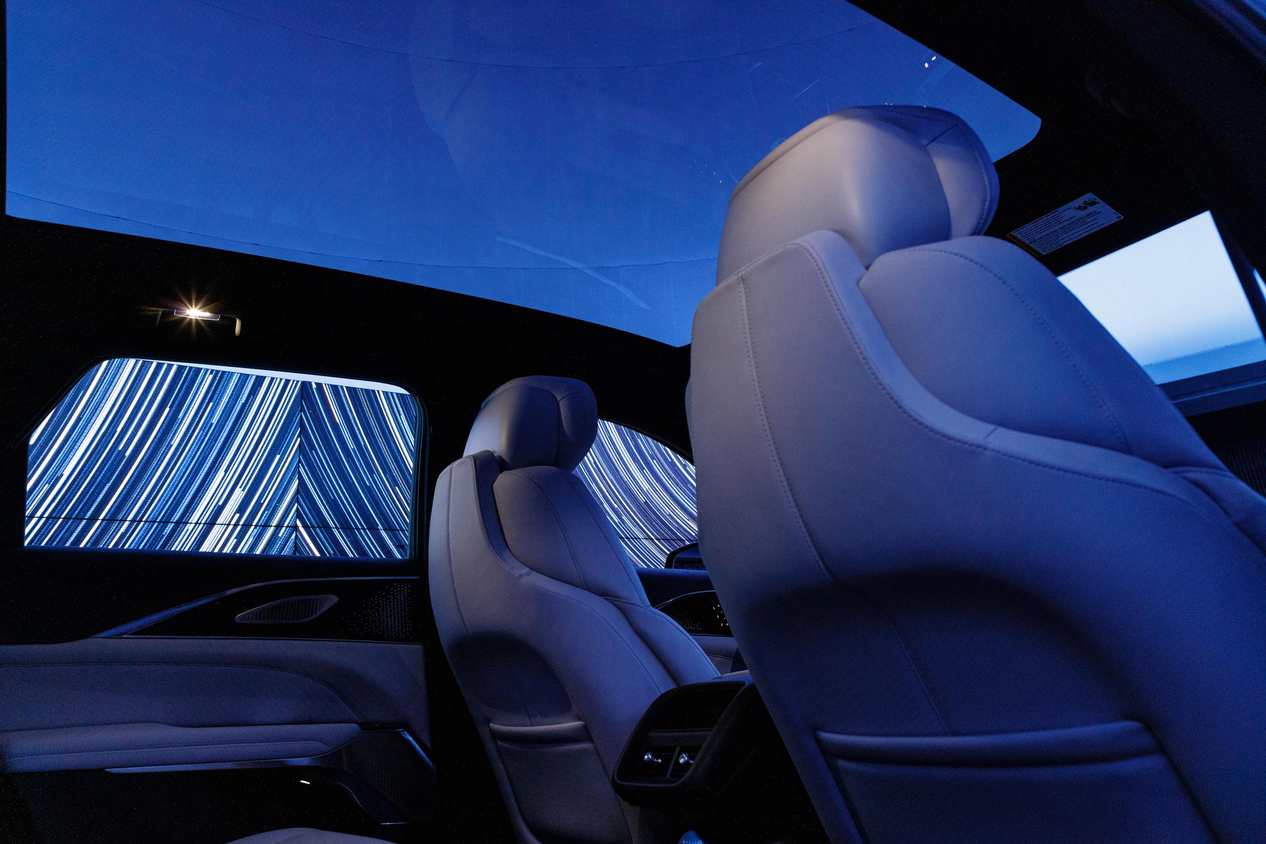 2023 Cadillac Lyriq interior moonroof
