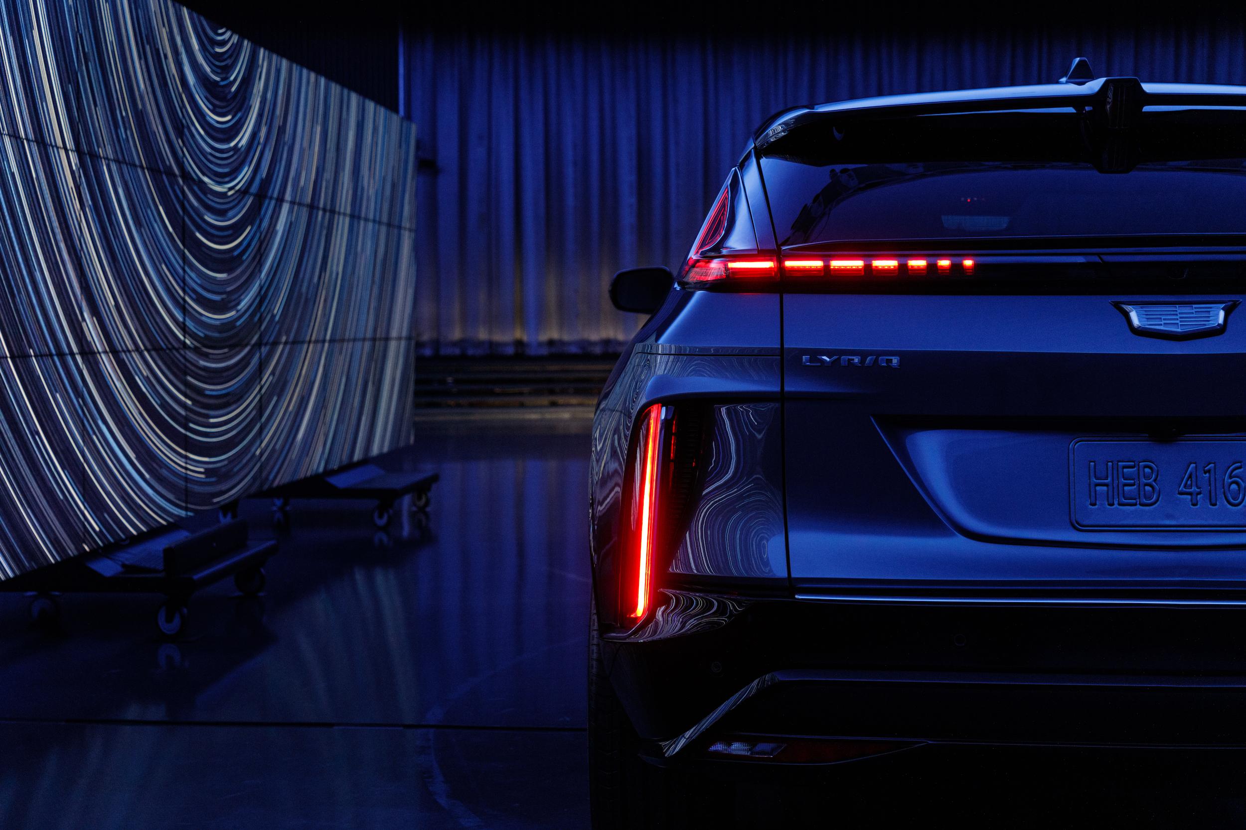 2023 Cadillac Lyriq rear