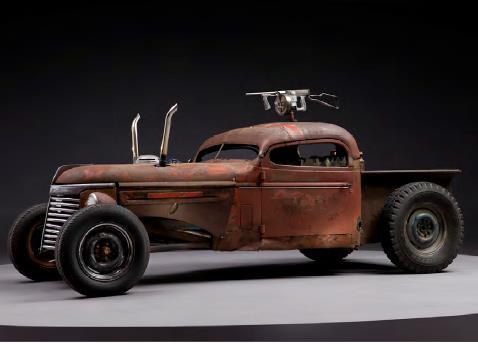 Mad Max Fury Road prop car