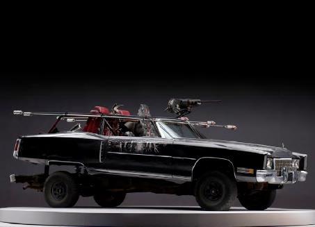 Mad Max Fury Road prop car lowrider