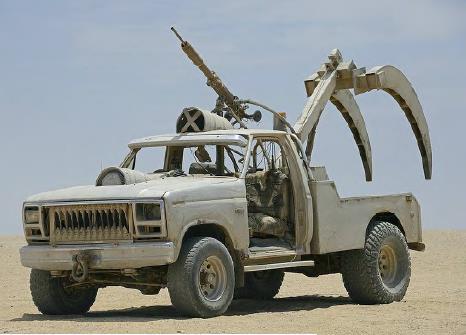 Mad Max Fury Road prop car pickup