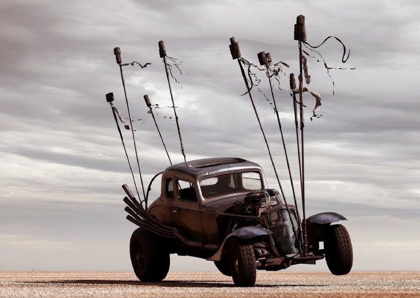 Mad Max Fury Road prop car rat rod