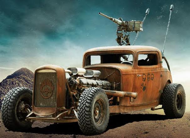 Mad Max Fury Road prop rat rod