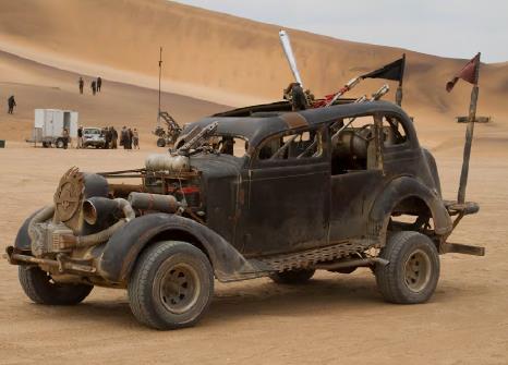 Mad Max Fury Road prop car sedan