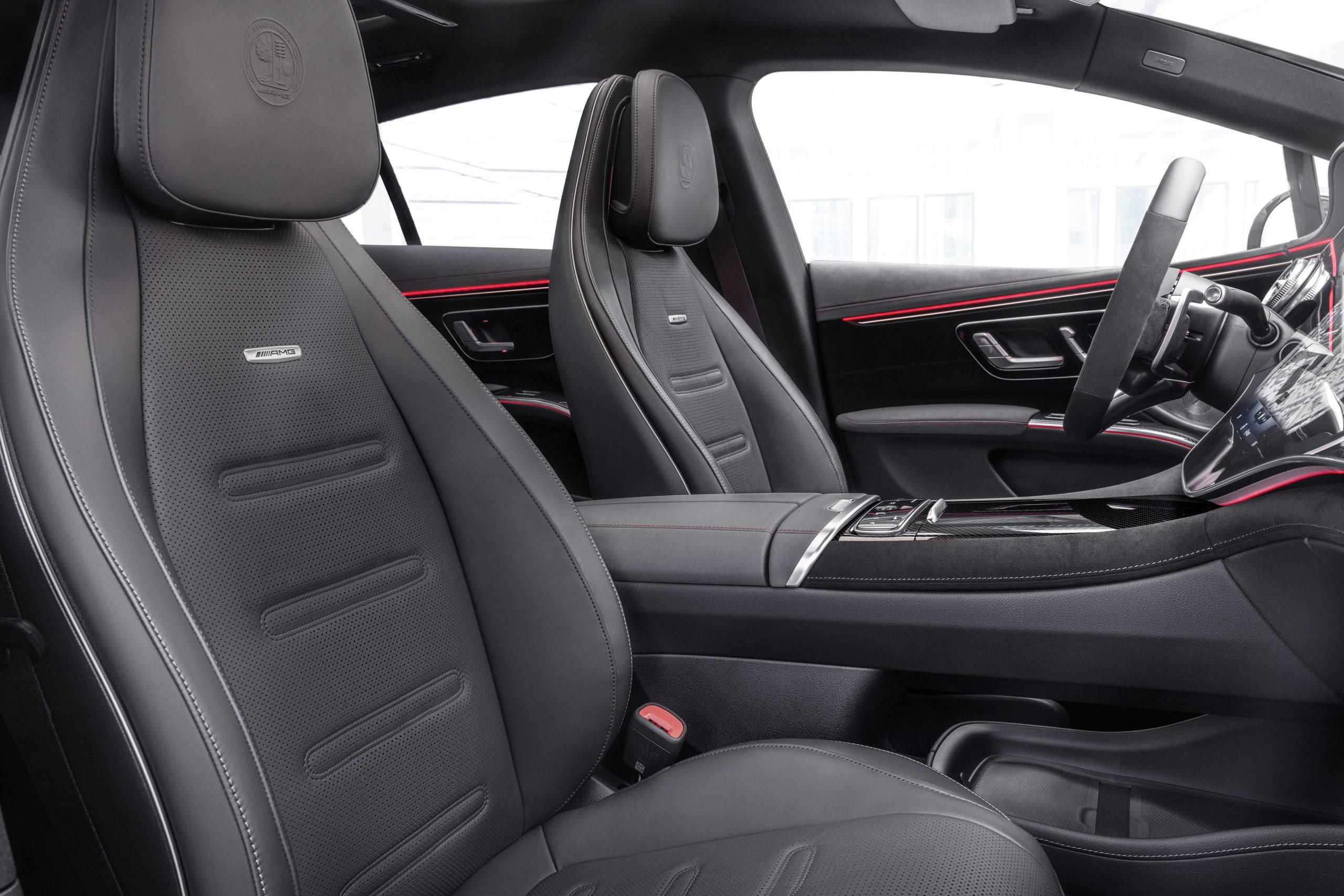 2021 Mercedes-AMG EQS 53 interior front seats