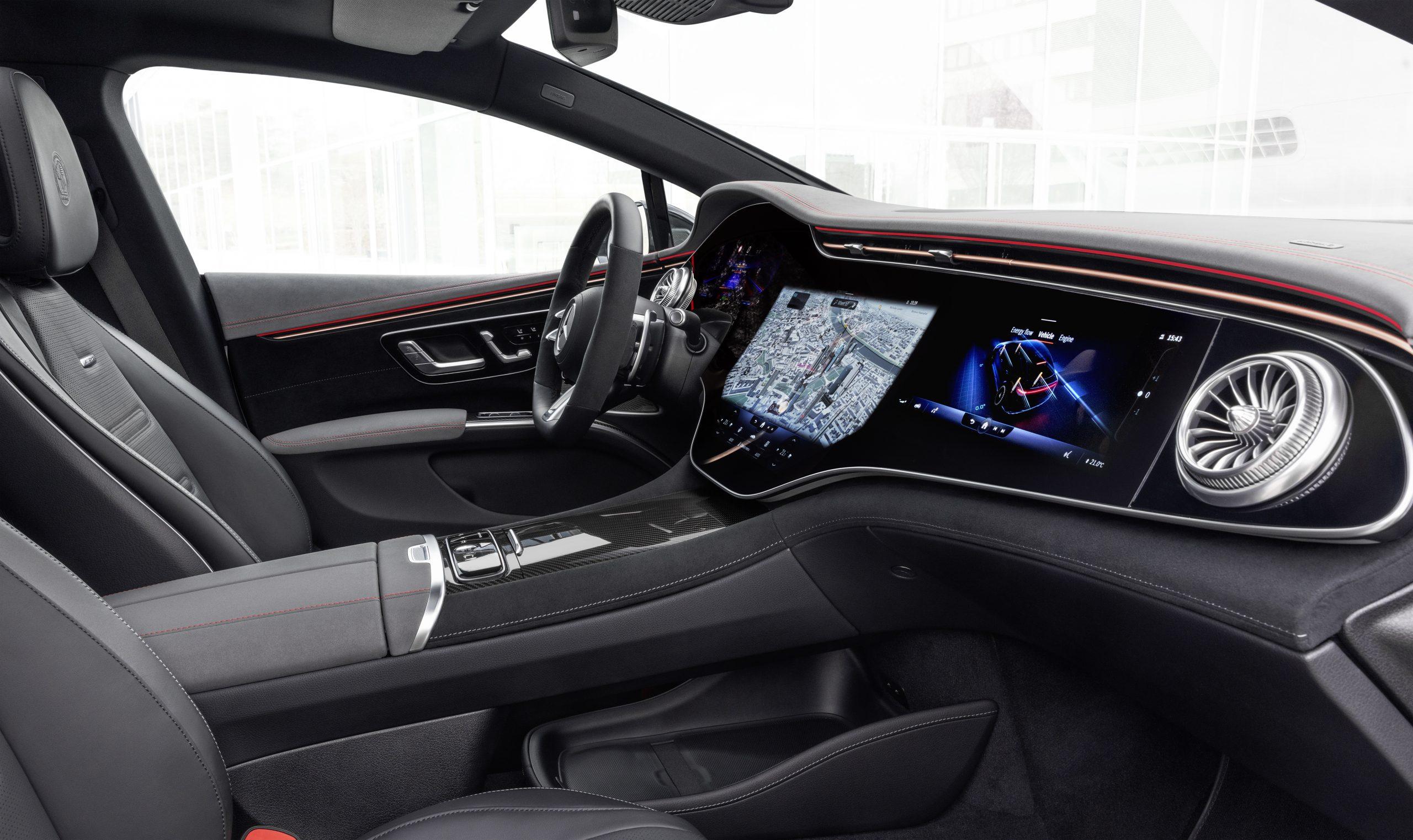 2021 Mercedes-AMG EQS 53 interior