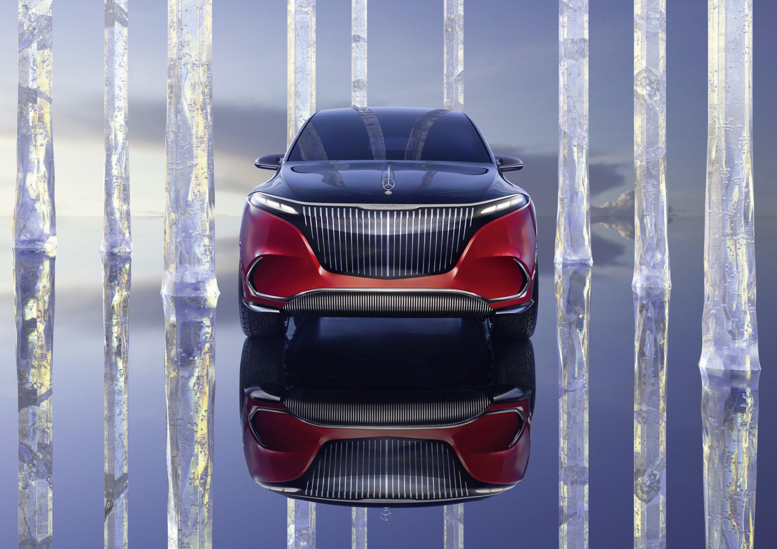 Mercedes Benz Maybach EQS Concept front