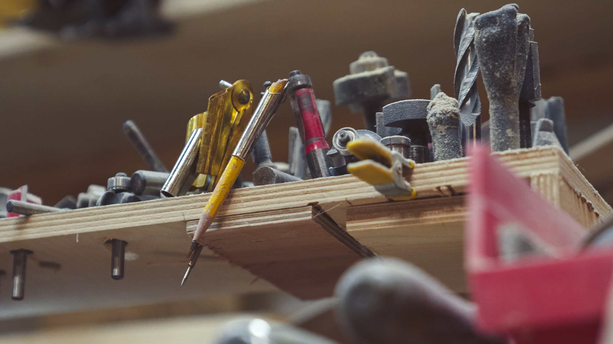 Mike Nickels Woodie Wagon Shop tools