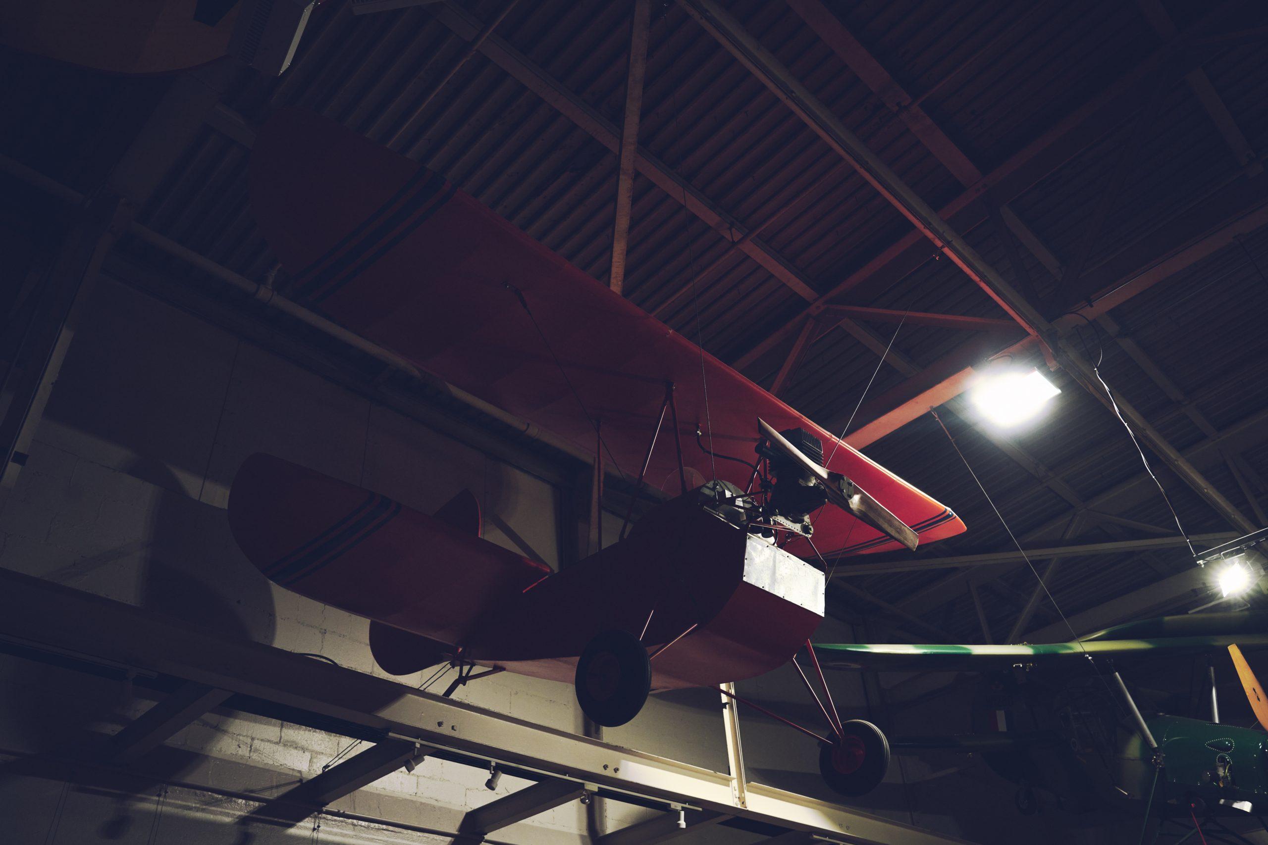 Nashville vintage car museum plane
